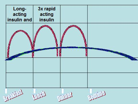 Basal bolus injection