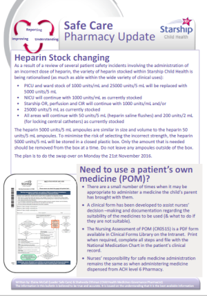 image heparin stock changing