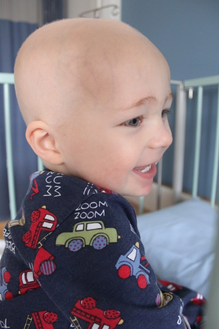Finley during chemo2