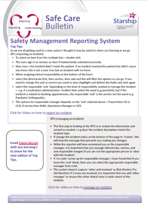 Safety Management Reporting System