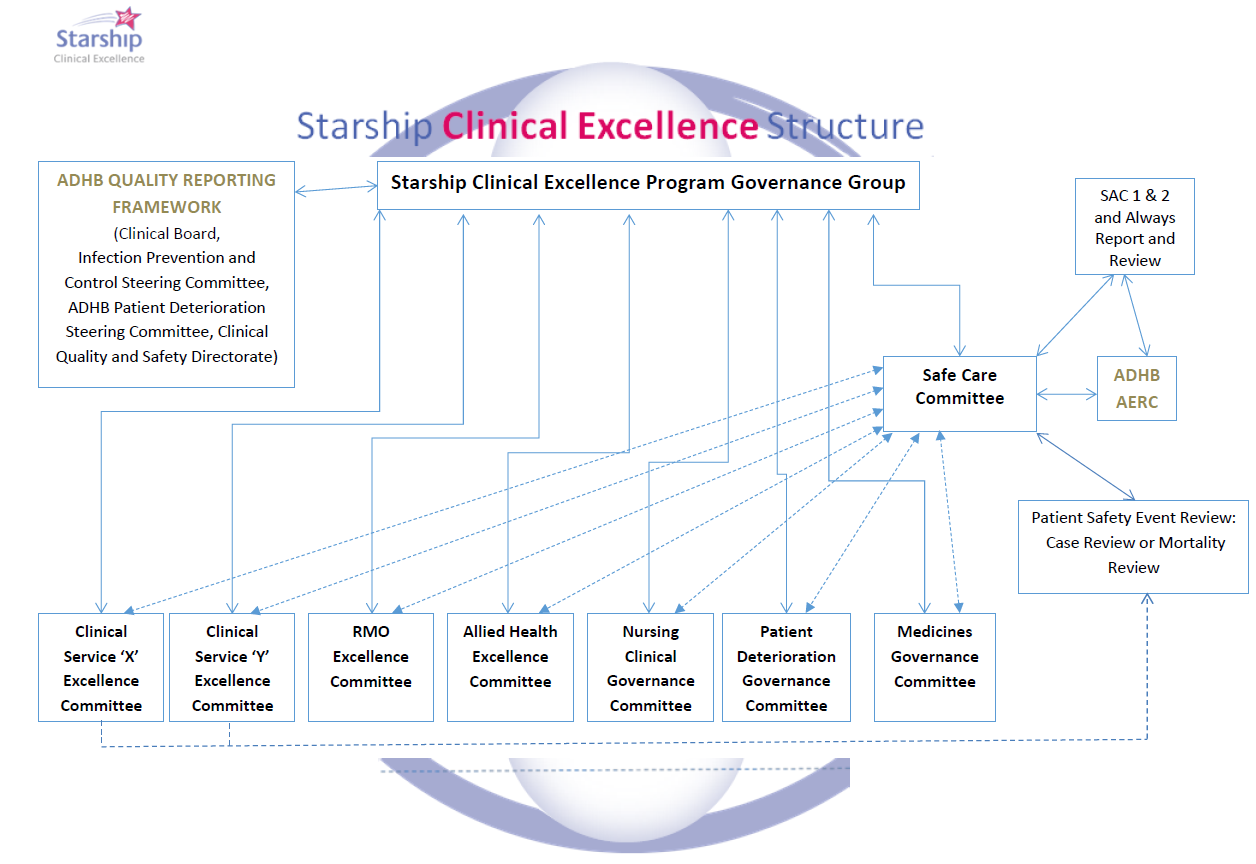 starship clinical excellence structure
