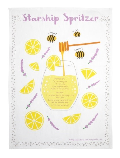 Ruby's Tea Towel