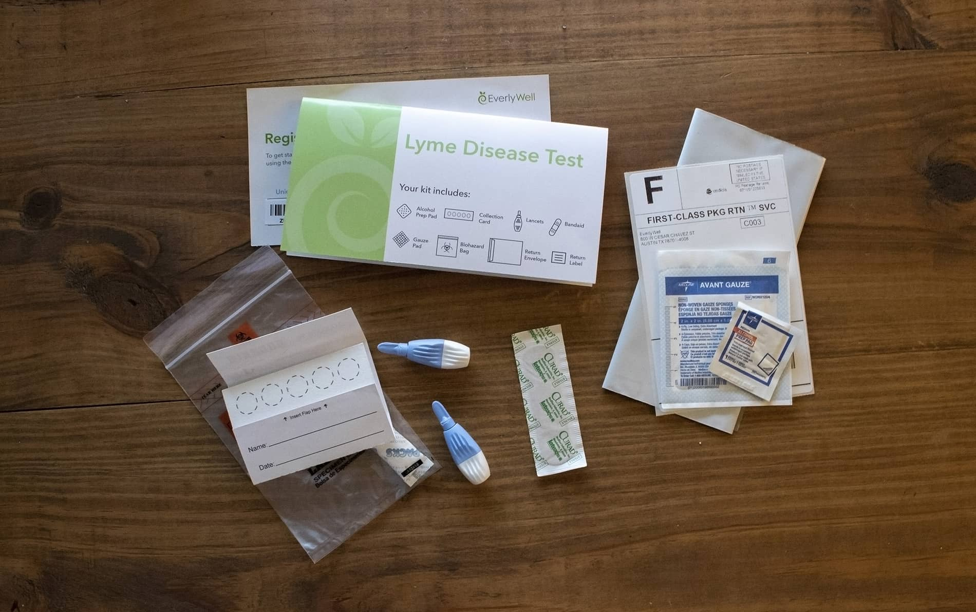 Everlywell at-home Lyme Disease Test