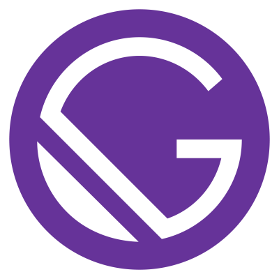 Gatsby Monogram / Courtesy of gatsbyjs.org