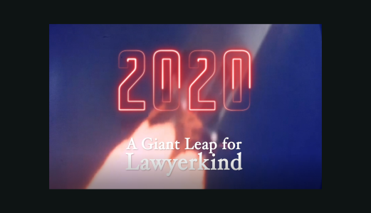 A giant leap for lawyerkind