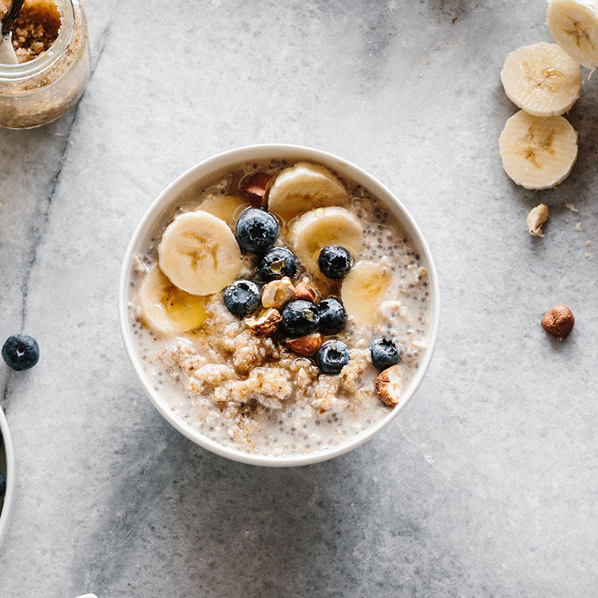 High-Protein Breakfast Ideas - Power Oats