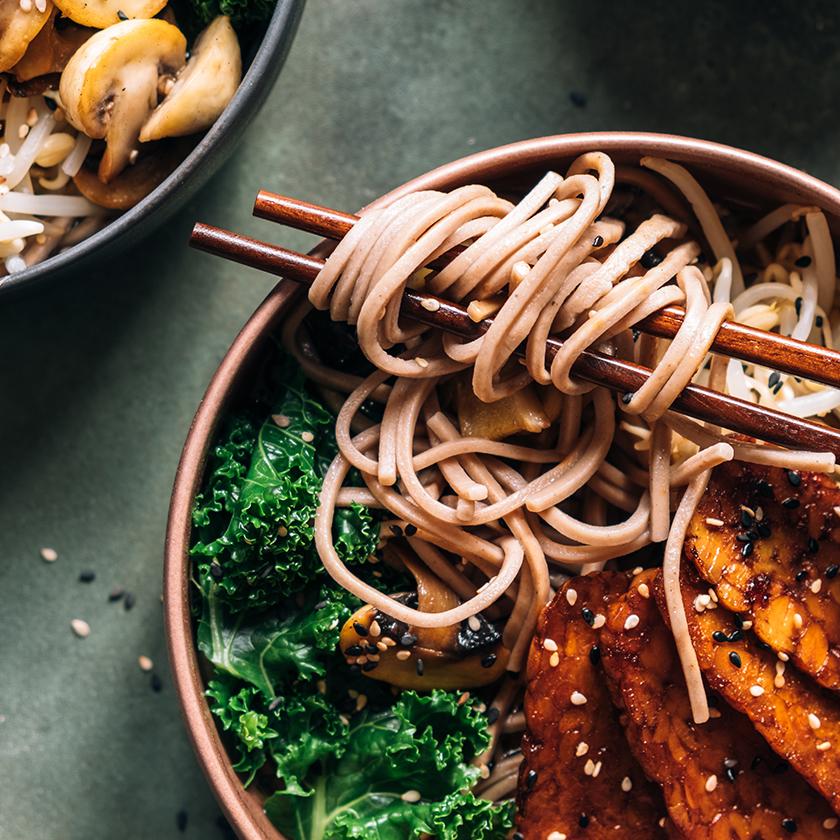 Soba Noodle Salad — Complete Protein Foods