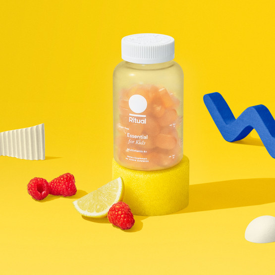 The sugar-free gummy multivitamin formulated with picky eaters in mind, including 50 mg Omega-3 DHA and a good source of fiber per serving.*