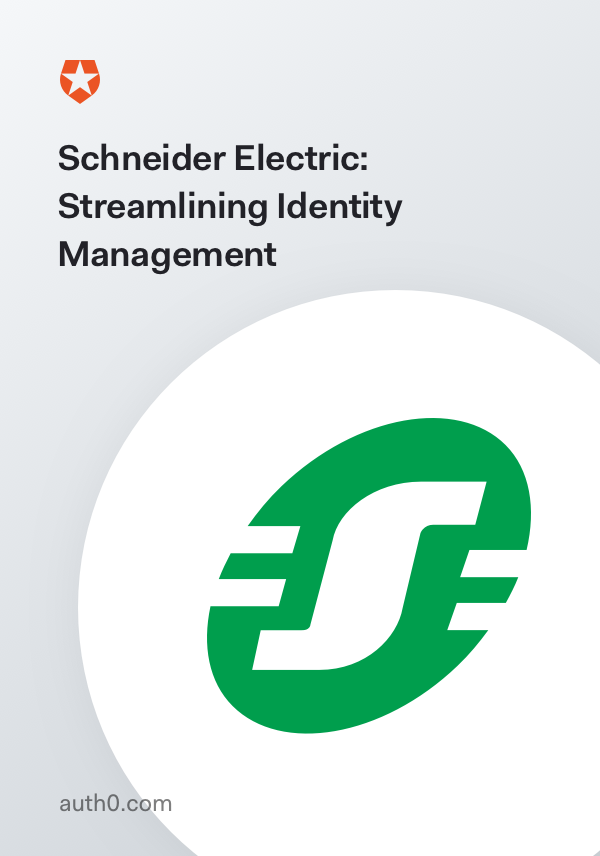 Schneider Electric: Streamlining Identity Management
