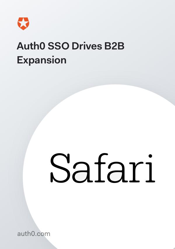 Safari: Auth0 SSO Drives B2B Expansion