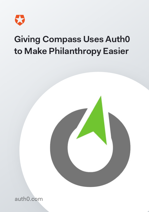 Giving Compass Uses Auth0 to Make Philanthropy Easier