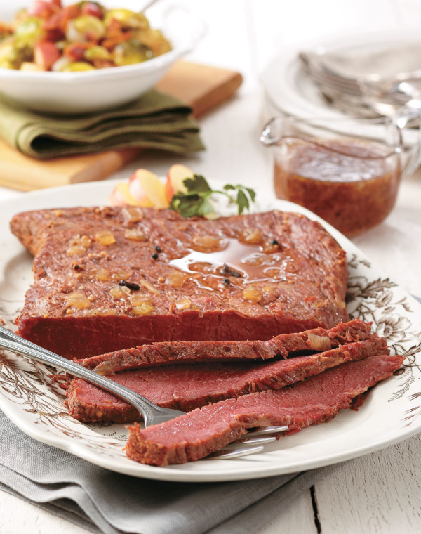 Braised Corned Beef