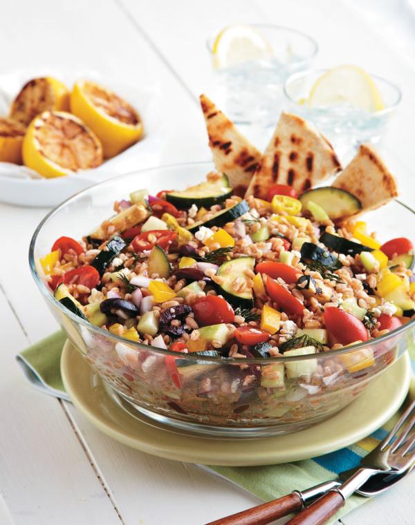 Vegetarian Gyro Salad