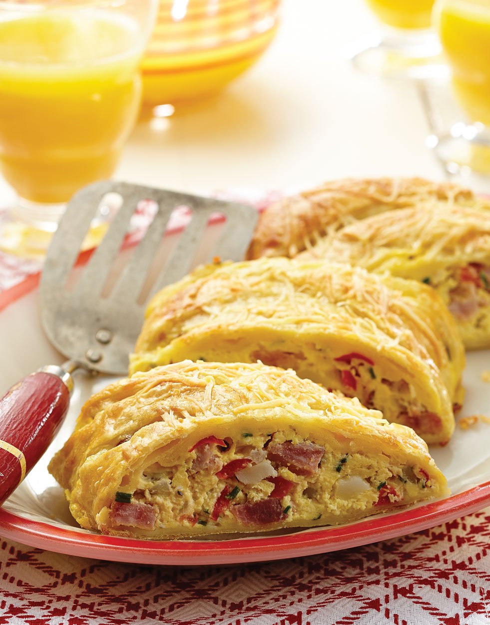 Braided Breakfast Strudel
