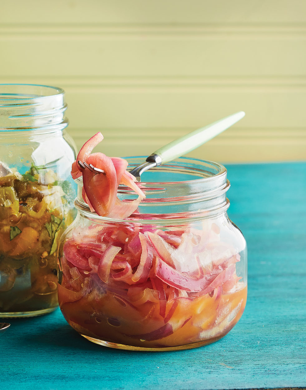 Orange Pickled Red Onions