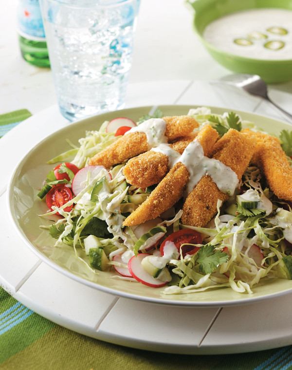 Baja Fish Taco Salad