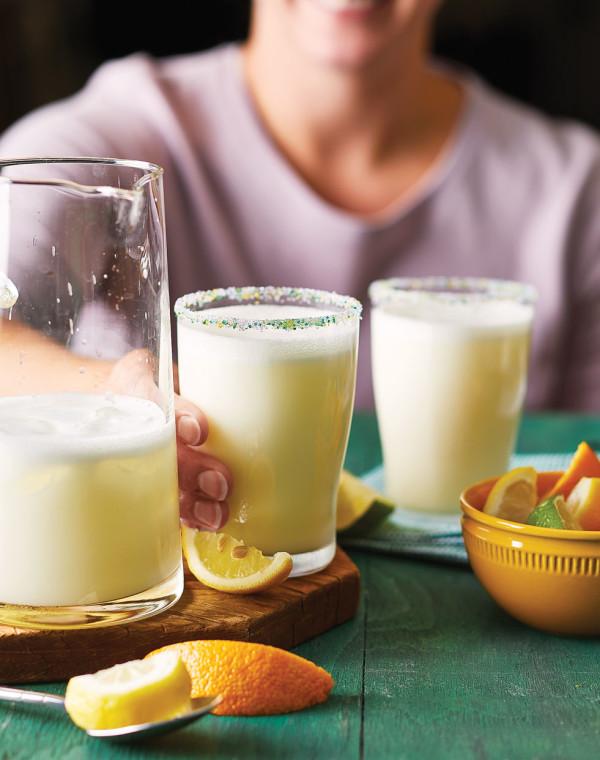 Triple Citrus Ramos Gin Fizz