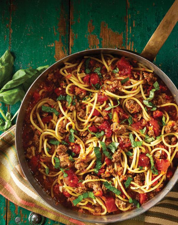 One-Pot Ragu with Italian Sausage