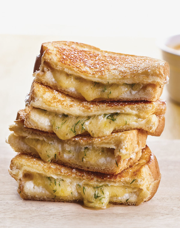 Dill Havarti Grilled Cheese