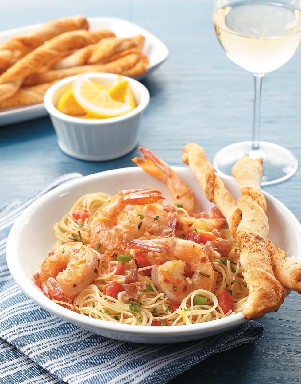 Angel Hair Shrimp Scampi Recipe