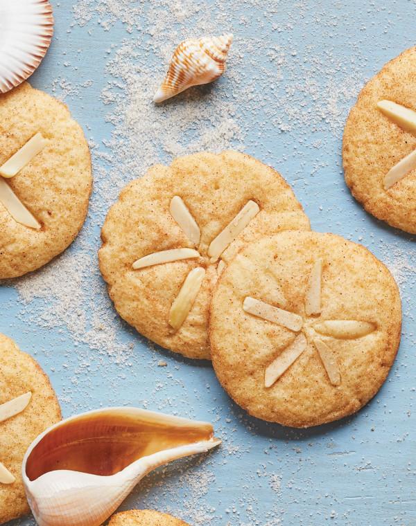 Cinnamon-Sugar Sand Dollar Cookies