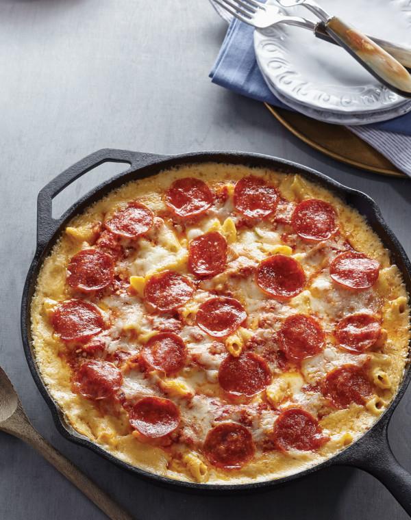 Pepperoni Pizza Mac 'n Cheese