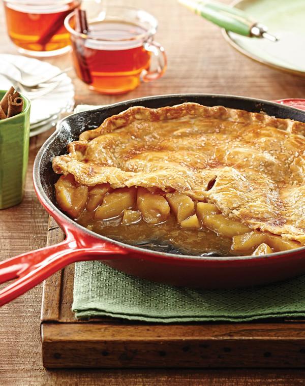 Skillet Apple Pie