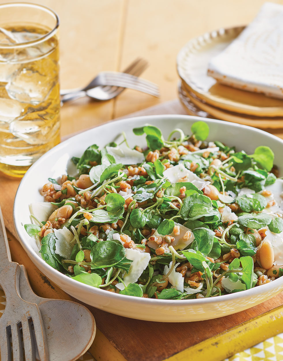 Farro & Watercress Salad