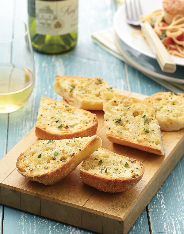 Lemony Garlic Bread