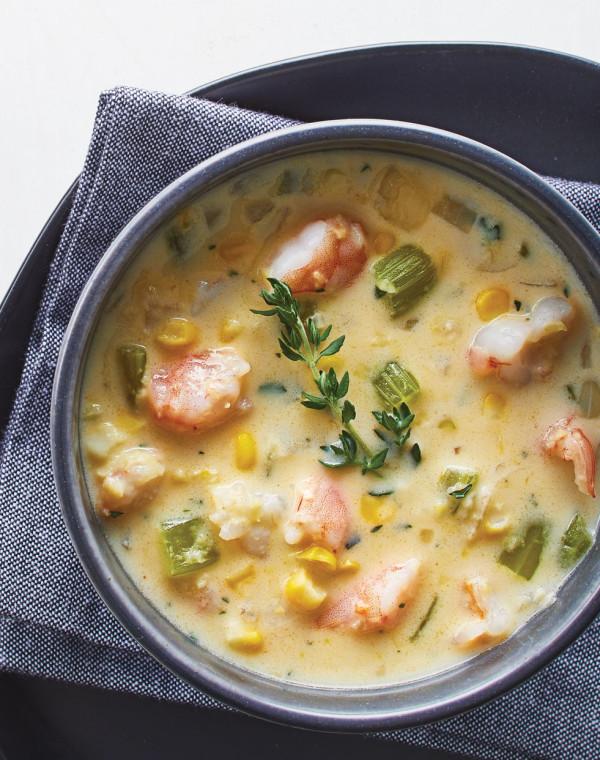 Corn & Shrimp Soup