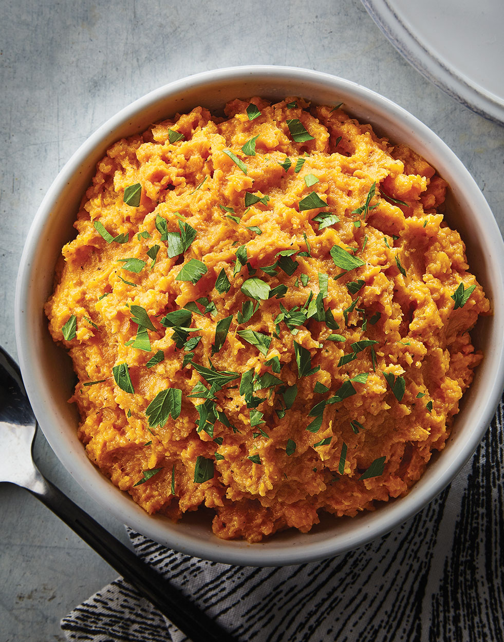 Country Smashed Sweet Potatoes