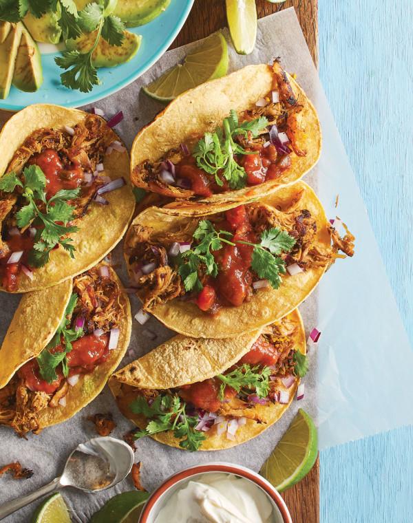 Carnitas-Style Turkey Tacos