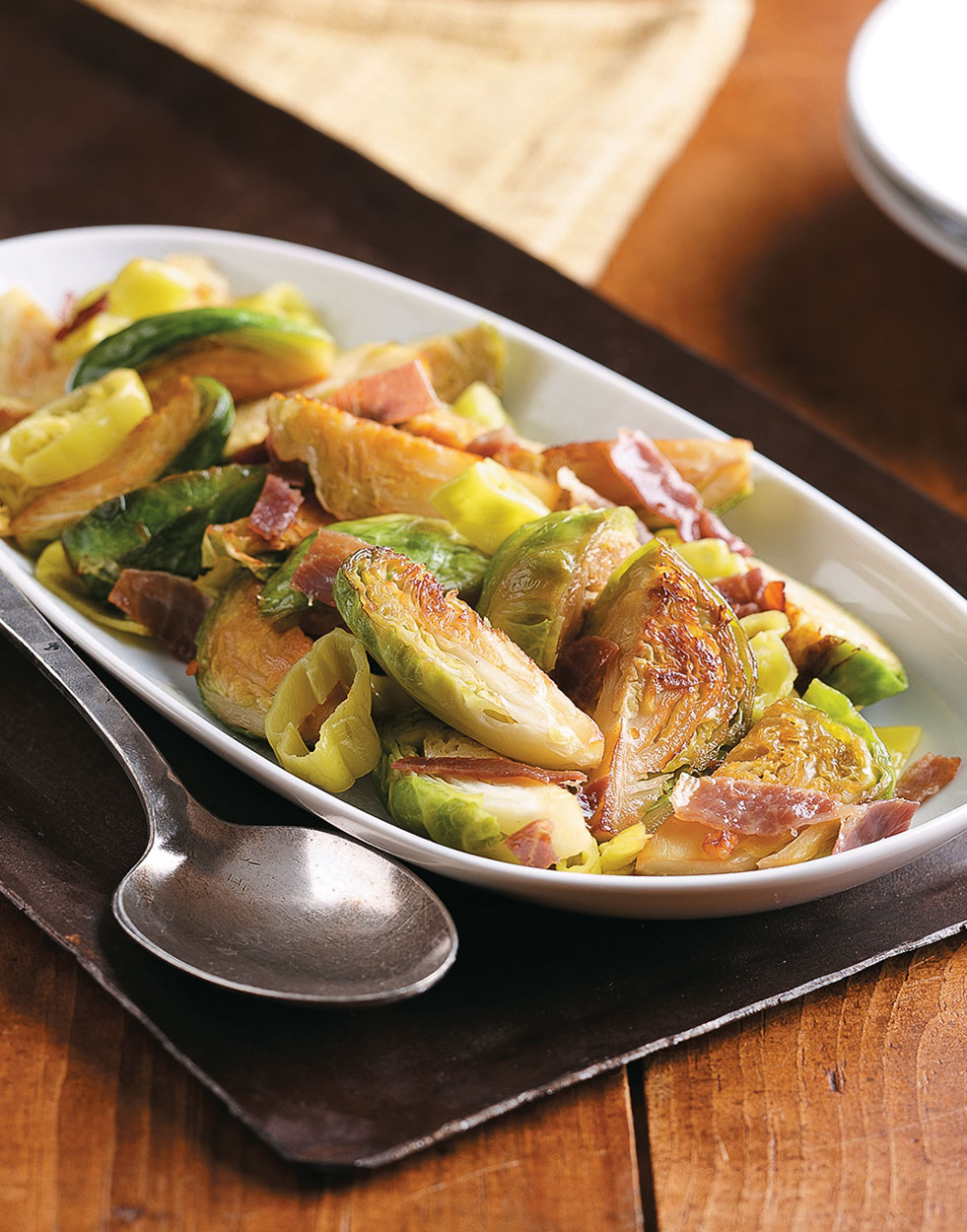 Pan-Roasted Brussels Sprouts