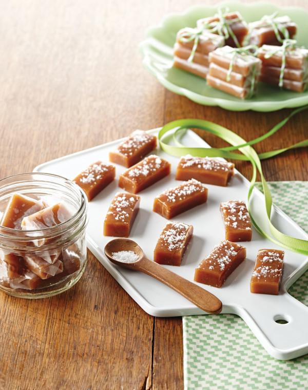 Vanilla Bean Caramels with Fleur de Sel