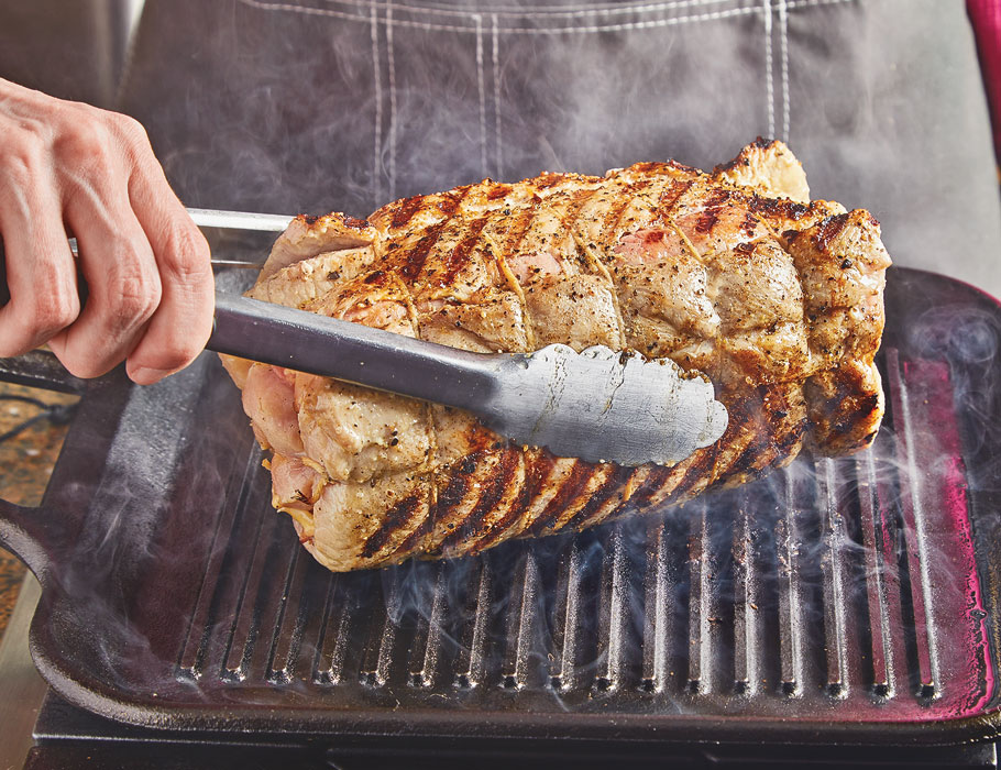 Article-How-to-Make-a-Stuffed-Pork-Loin-Searing
