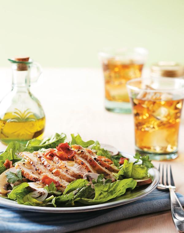 Chicken au Poivre Salad
