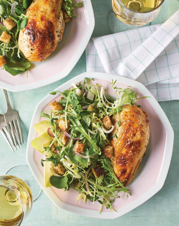 Maple-Lemon Glazed Chicken