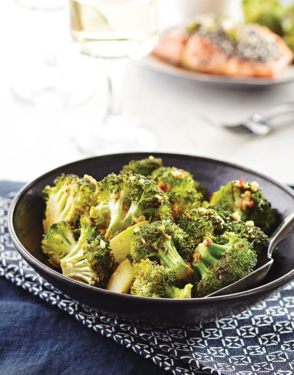 Asian Broccoli with garlic