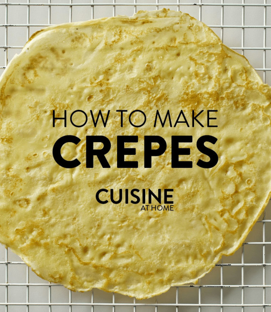 How to Make French Crêpes