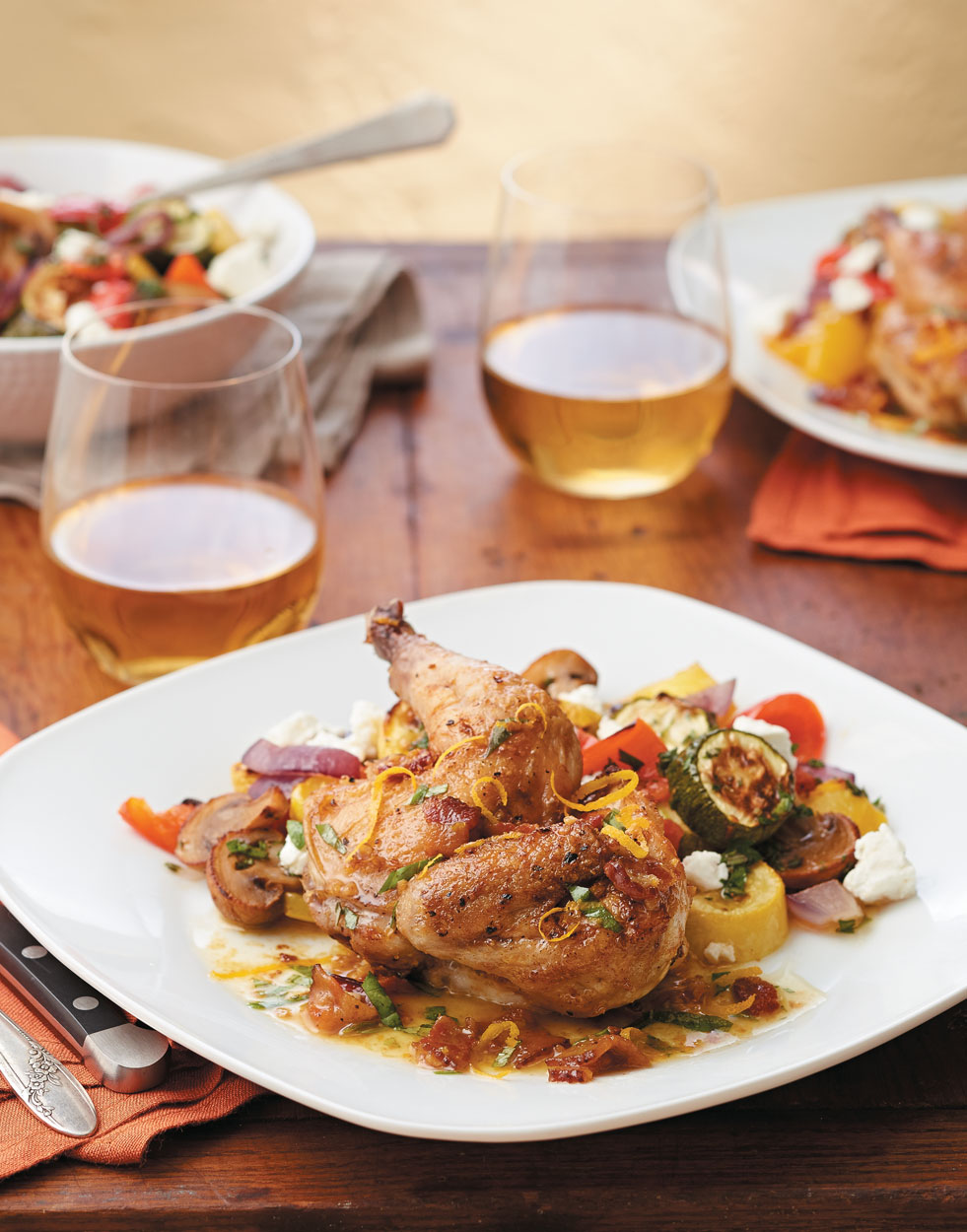 Pan-Roasted Cornish Game Hens