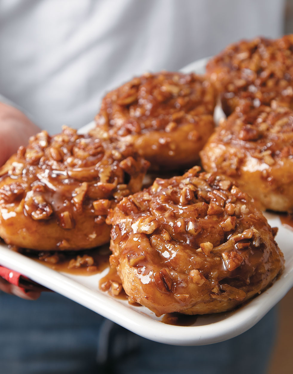 Toasted Pecan Sticky Rolls