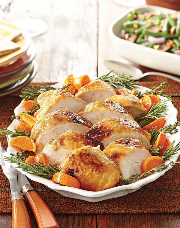 Orange-Brined Turkey Breast