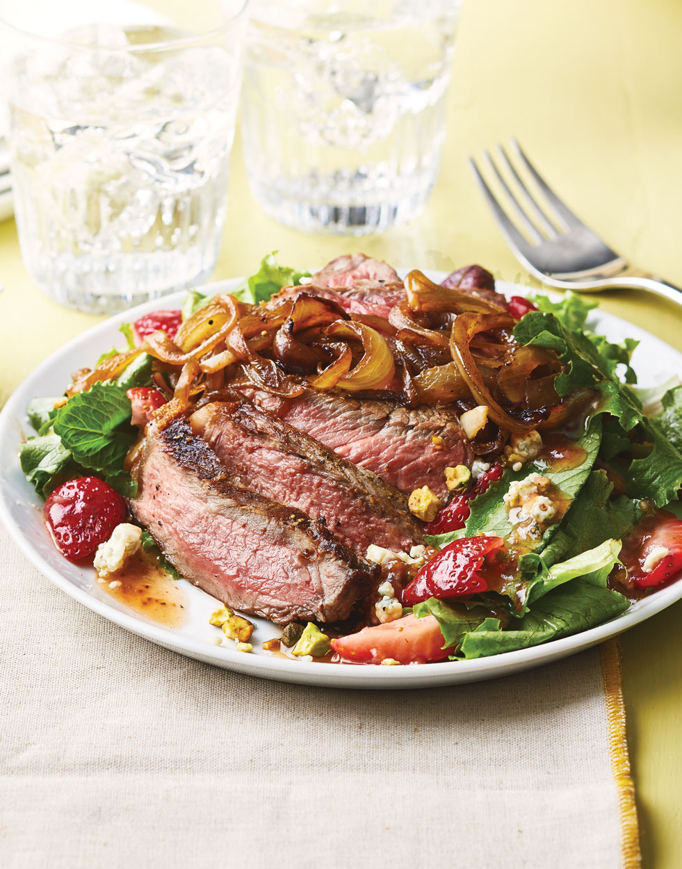 Strawberry & Steak Salad