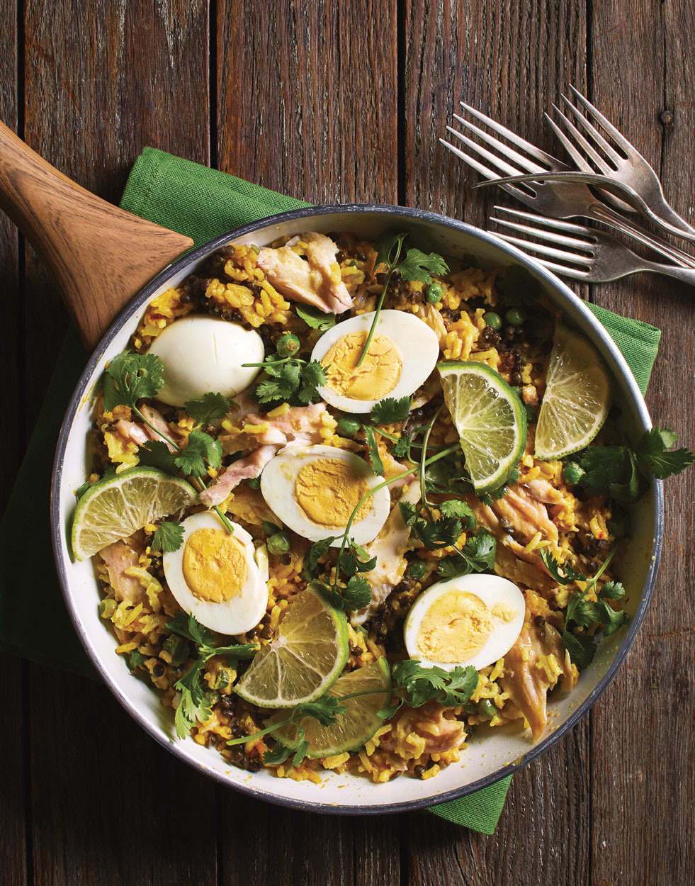 Kedgeree with smoked whitefish