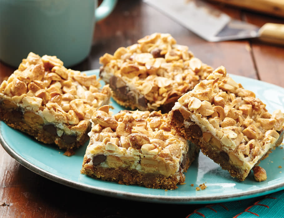 Peanut Butter 7-Layer Bars