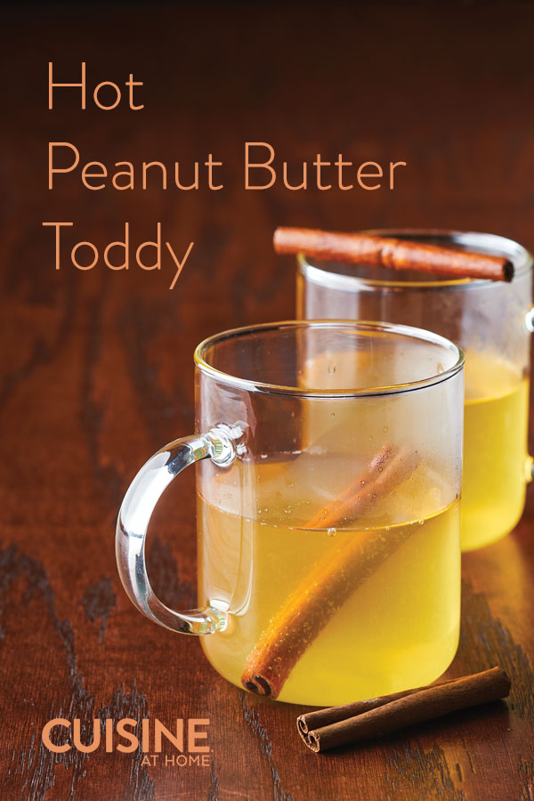 Peanut Butter Hot Toddy with Skrewball Peanut Butter Whiskey