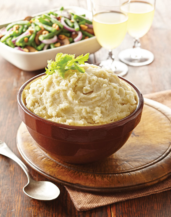 Mashed Potatoes & Celery Root