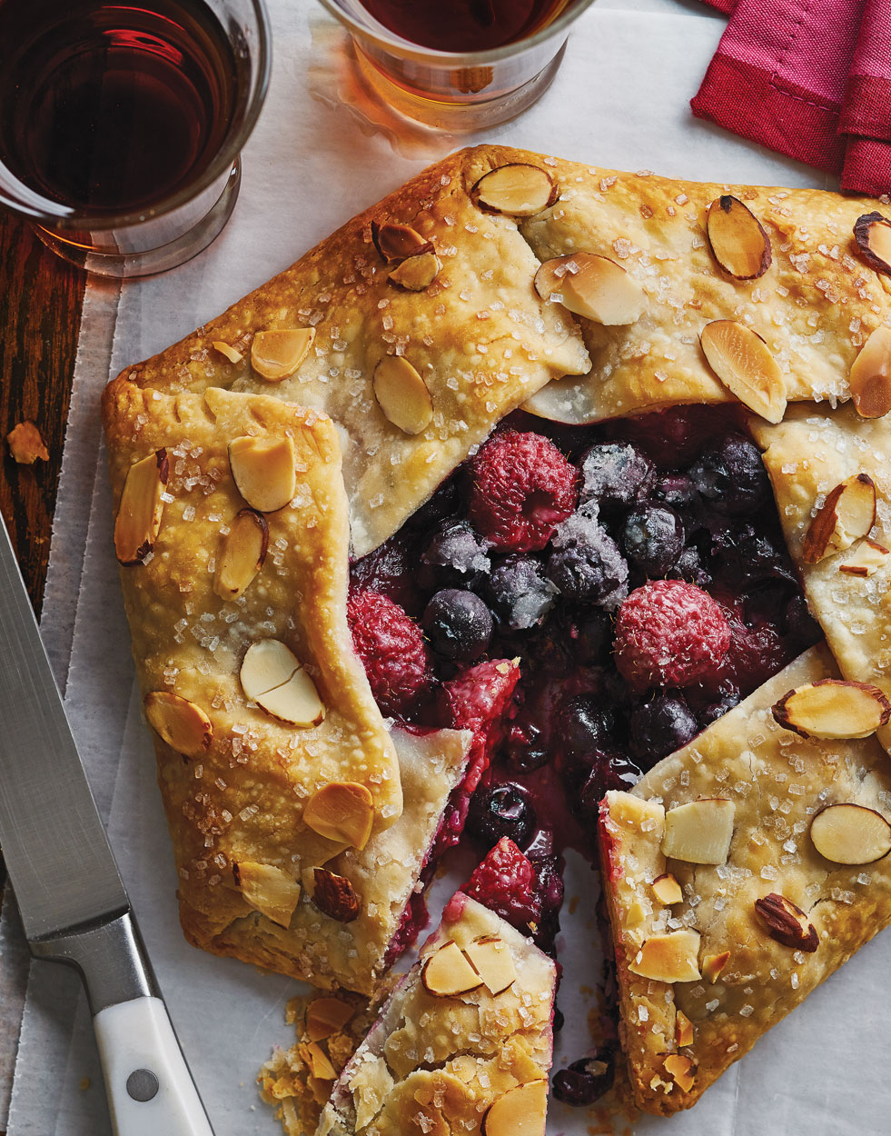 Berry Almond Crostata