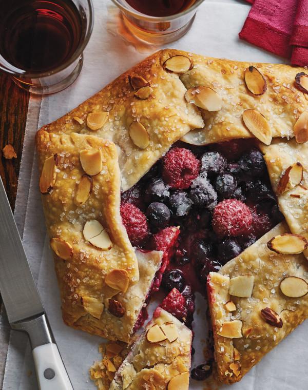 Berry Almond Crostata