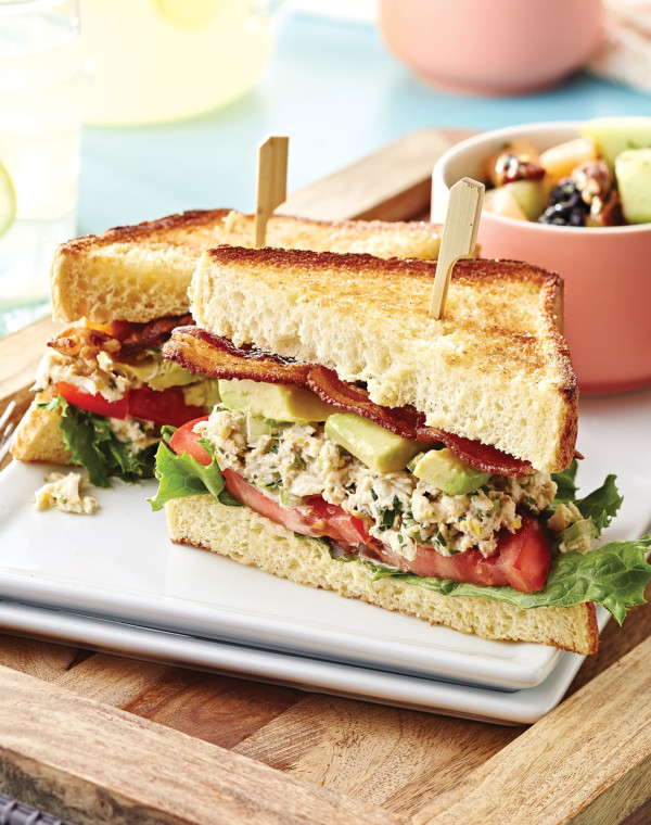 Crab Salad BLT